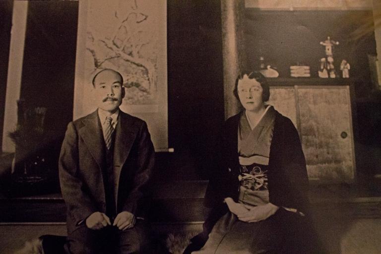 Rita and Masataka Taketsuru