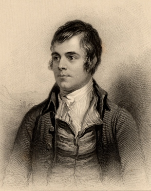 Burns portrait